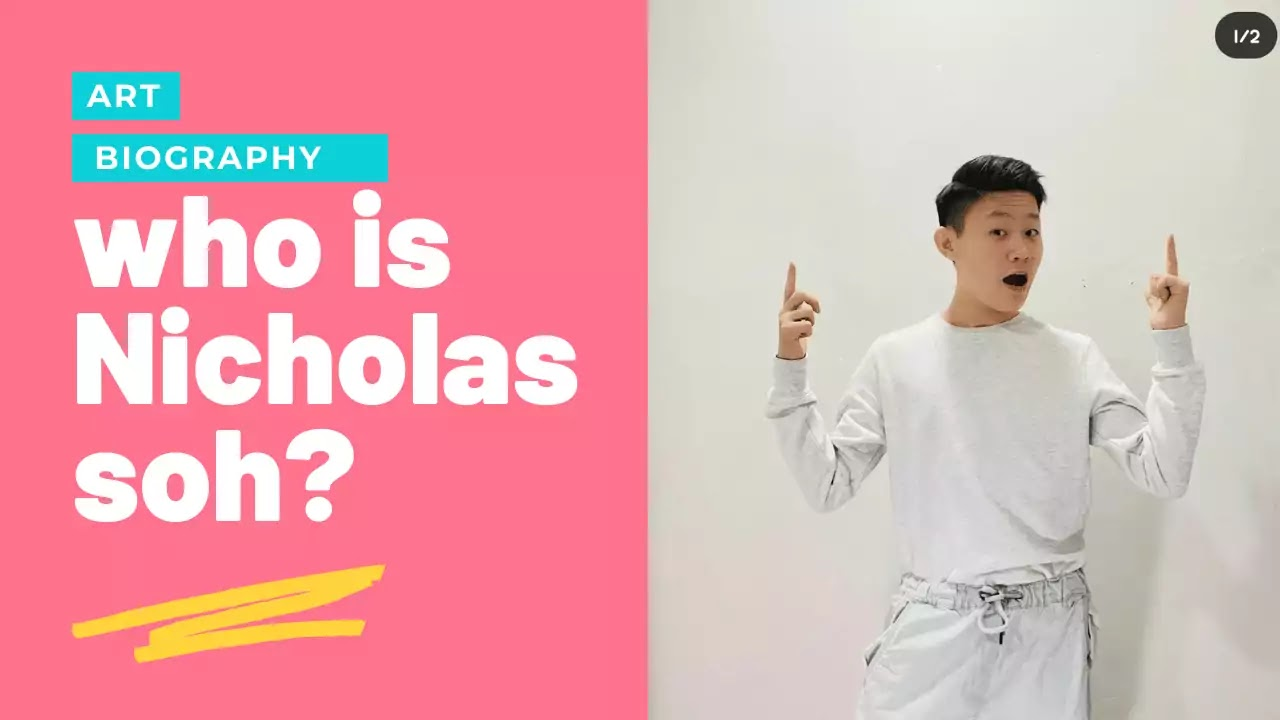 Nicholas soh Biography