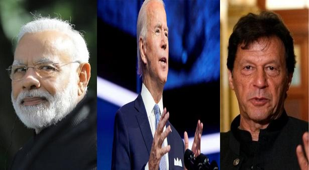 Congratulations to Joe Biden from India and Pakistan PM