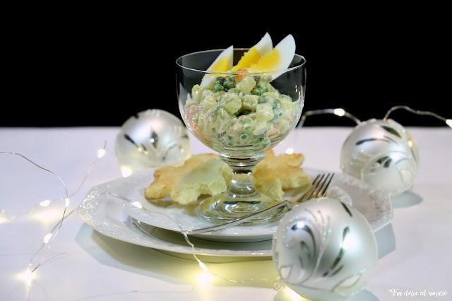 Insalata Russa - Salade Piémontaise - Russischer Salat - Salat Olivier - oder auch die Frage: Wer hat's erfunden?