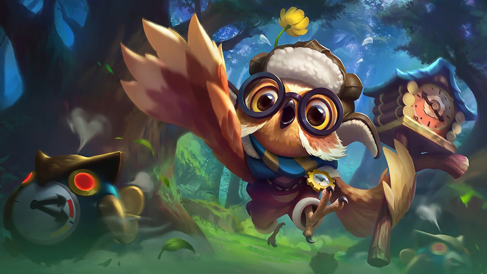 Wallpaper Diggie Timekeeper Skin Mobile Legends HD for PC