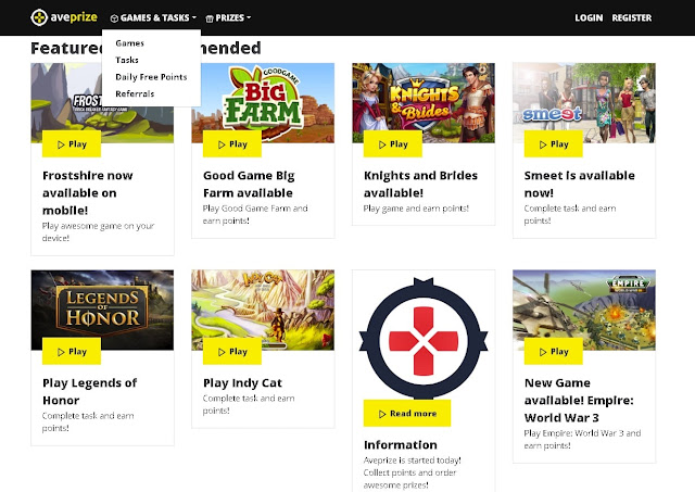 تعرف على هذا الموقع الذي يمكنك ربح أول مبلغ لك عن طريق اللعب فقط