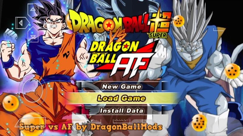 Android PSP Game Dragon Ball Z TTT MOD Latino ISO With Permanent Menu