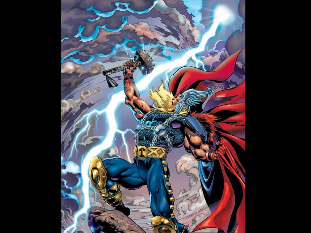 Wallpapers photo art mighty thor wallpapers - Thor art wallpaper ...
