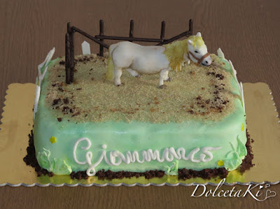 torta cavallo pony