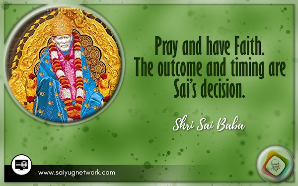 Shirdi Sai Baba Blessings - Experiences Part 2952