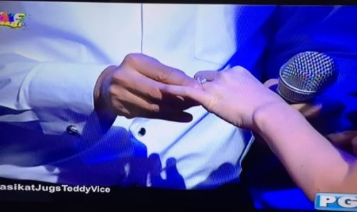 Teddy Corpuz marries again in Showtime Magpasikat 2017