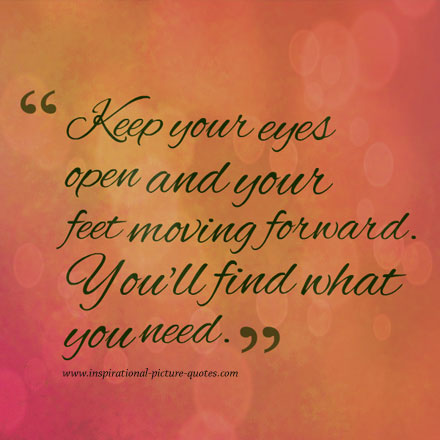 Keep Your Eyes Open Inspirational Picture Quotes