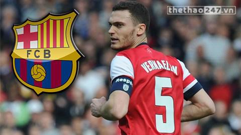 Trước khi đến Barca, anh đã từng có 5 năm gắn bó ở Arsenal.