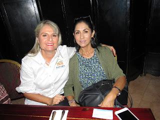 Susana Zavaleta y Lourdes Martínez.