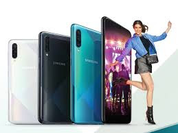 Samsung Galaxy A50s Design and color