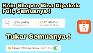 Cara Mengubah Koin Shopee Menjadi Uang