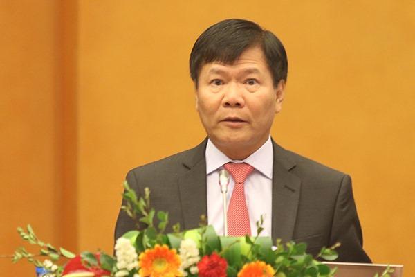 Sau khi về nước, Giáo sư Nguyễn Quang Thuấn phát biểu tại Hội đồng lý luận TƯ