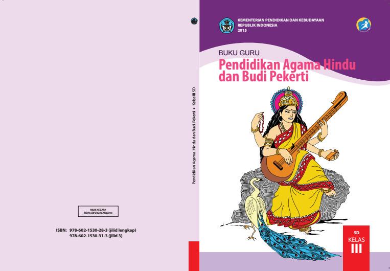 Download Gratis Buku Guru Pendidikan Agama Hindu Dan Budi Pekerti Kelas 3 SD Kurikulum 2013 Format PDF