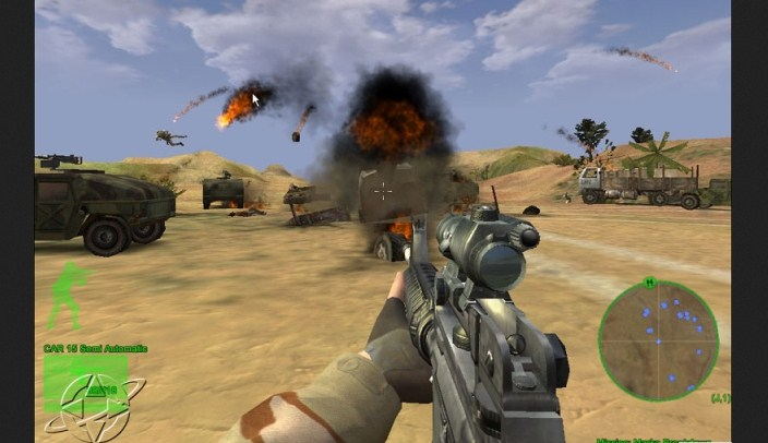 Delta Force Black Hawk Down pc full voces y textos español