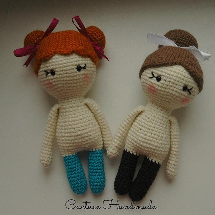 Куклы амигуруми крючком