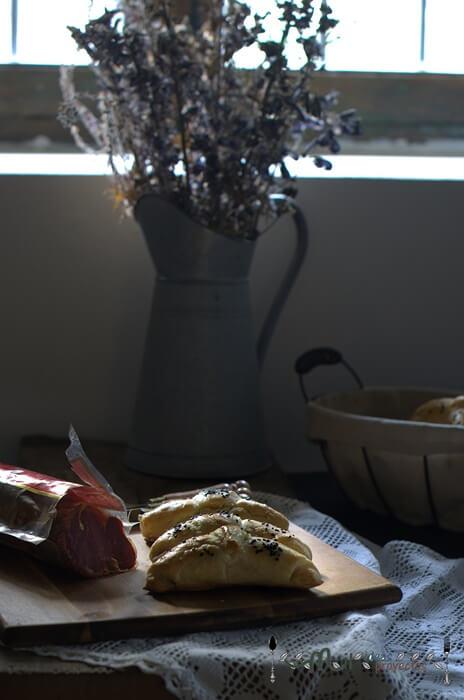 receta de croissants salados