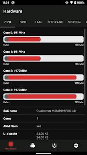 Melihat CPU hp