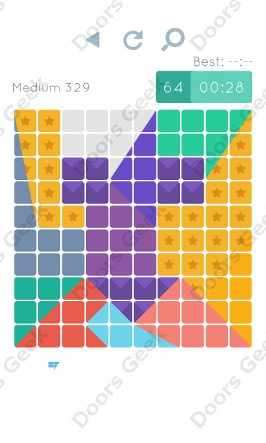Cheats, Walkthrough for Blocks and Shapes Medium Level 329