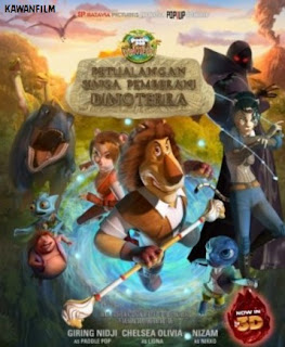 Download Film Petualangan Singa Pemberani Dinoterra (2014) Full Movie