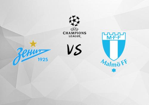 Zenit San Petersburgo vs Malmoe  Resumen