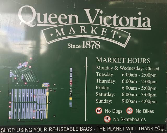Melbourne - Queen Victoria Market Opening Hours