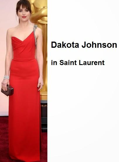 Dakota%2BJohnson%2Bin%2BSaint%2BLaurent - Look Óscares 2015