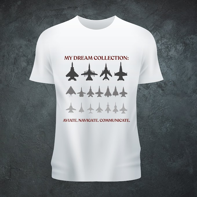 Aircraft Nerds ANC Unisex T-shirt