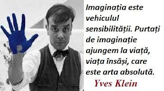 Citatul zilei: 28 aprilie - Yves Klein