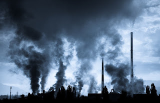 Air pollution from industry. Scientists have developed an advanced nickel-based catalyst strengthened with tin and ceria, and used it to transform CO2 and CH4 into a synthesis gas that can be used to produce fuels and a range of valuable chemicals. (Credit: © Jaroslav Moravcik / Fotolia) Click to Enlarge.