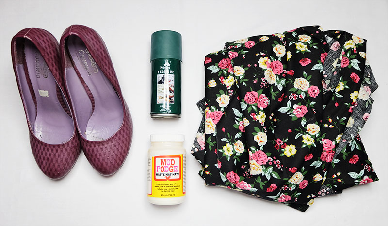 DIY Fabric Shoes Tools
