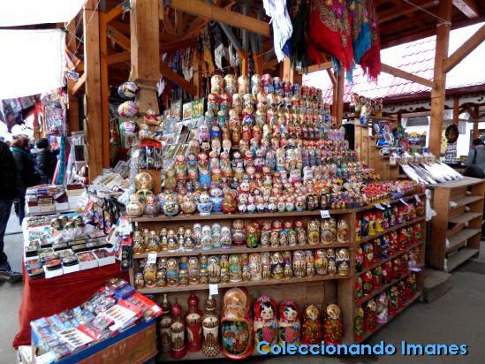 Souvenirs, Matrioshkas en el mercado de Izmailovo