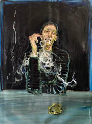 Portrait with a Glass Ashtray, Agnes Gruchulska