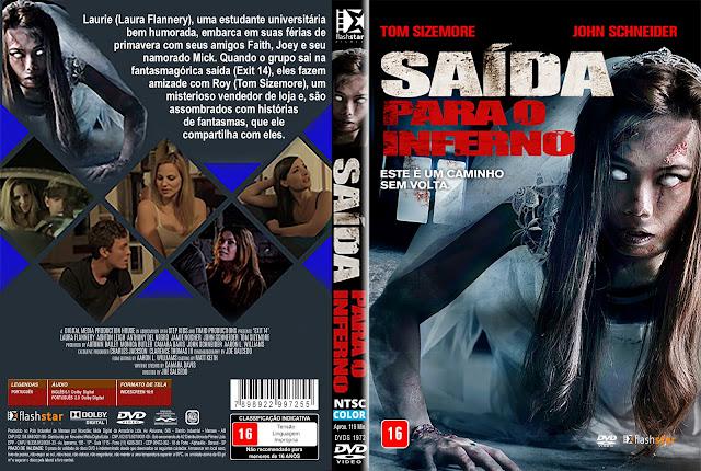 Capa DVD Saída Para o Inferno [Custom]