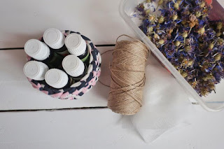 Zapachowe saszetki do szafy DIY