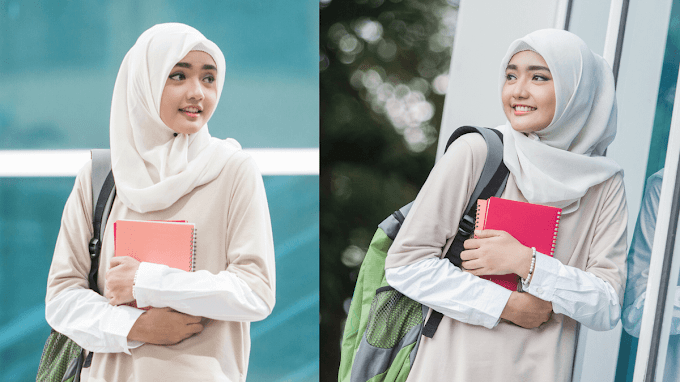 Mudah dan Praktis, Yuk Simak Cara Menggunakan Kerudung Segi Empat untuk Sekolah