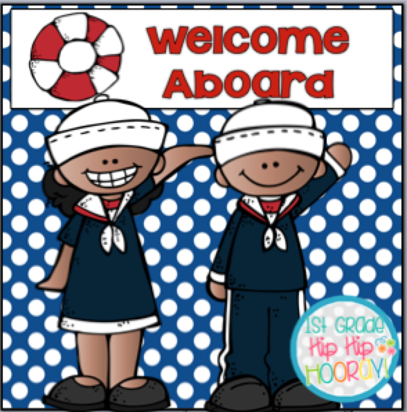 Hip Classroom Decor : St grade hip hooray welcome aboard