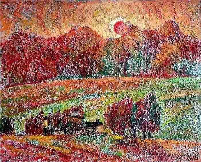 Азербайджанский художник. Najmaddin Huseynov
