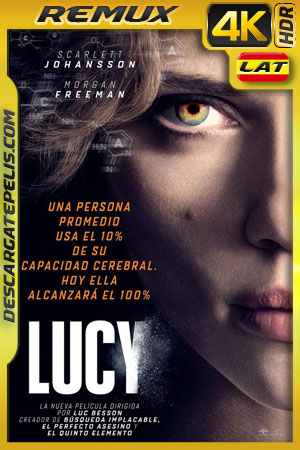 Lucy (2014) 4k BDRemux HDR Latino – Ingles