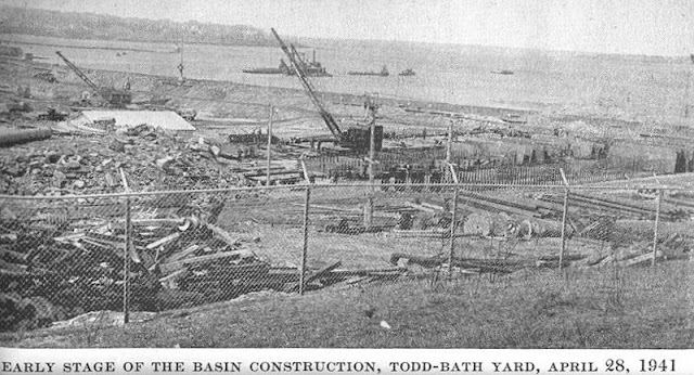 28 April 1941 worldwartwo.filminspector.com Todd-Bath shipbuilding yard