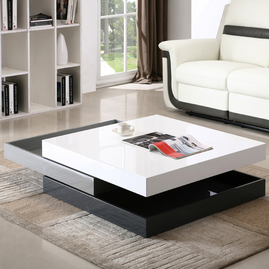 Best Modern Coffee Tables - Swivel
