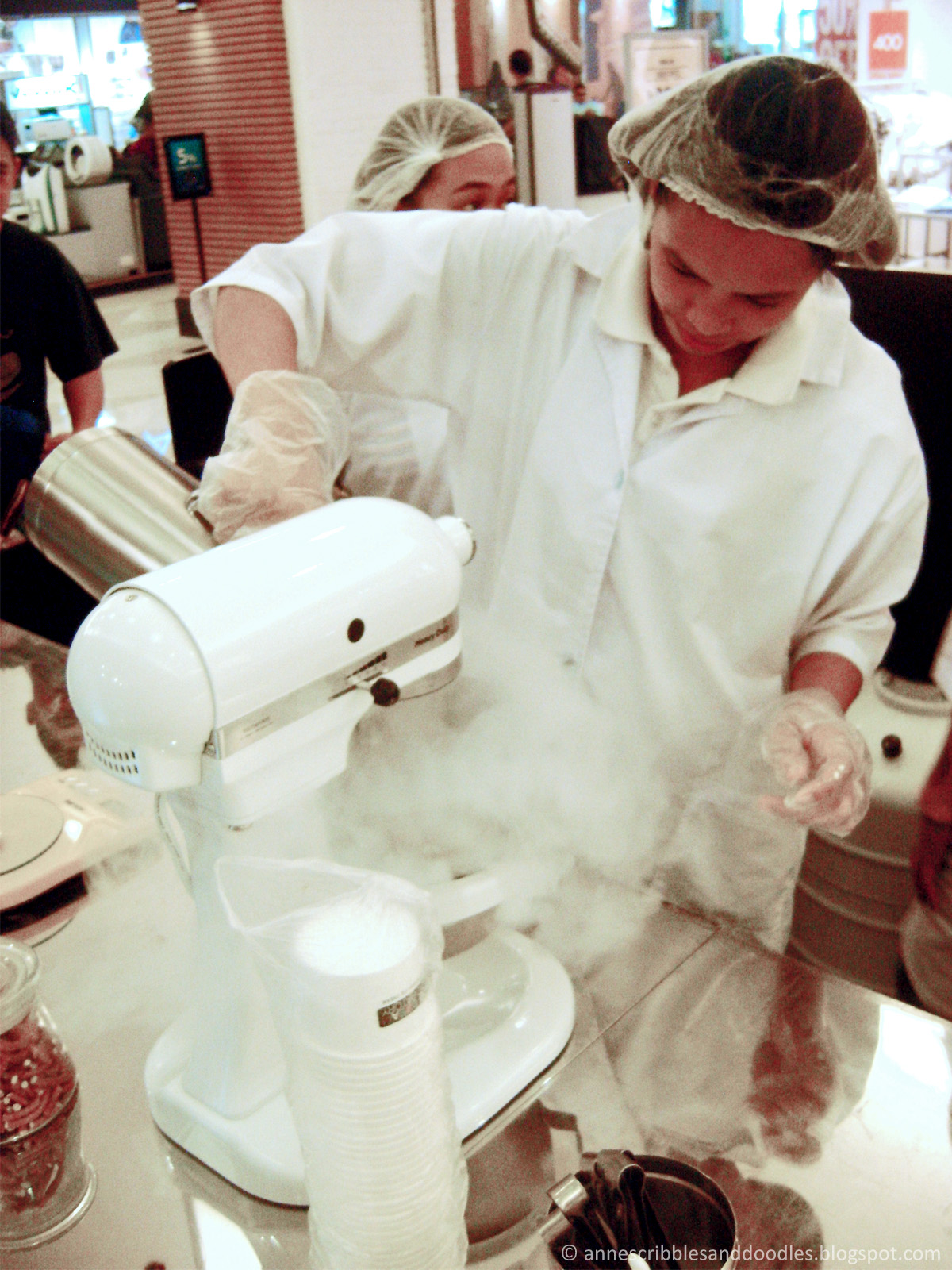 Ice Cream Laboratory - Liquid Nitrogen Magic