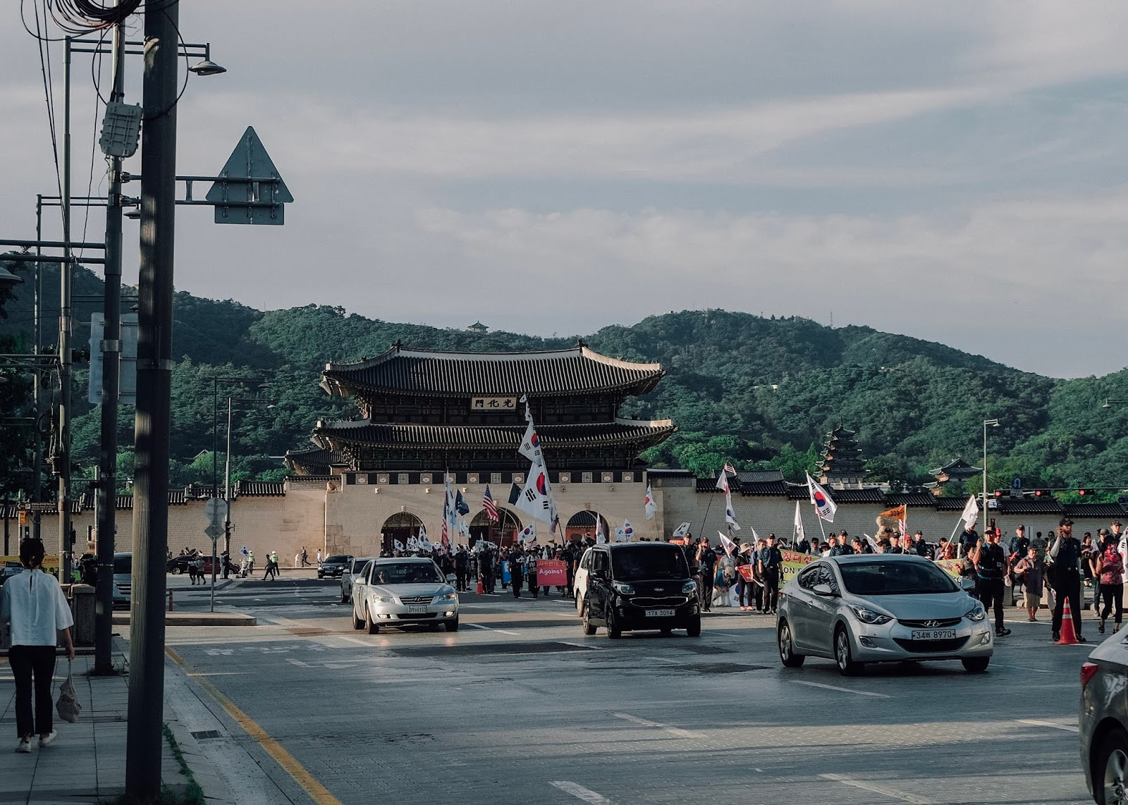 Gwanghamun Square Seoul Korea Curitan Aqalili