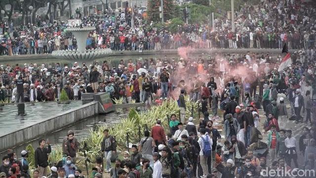Demo Ricuh, Polisi: FPI Tolong Bantu, Kita Kerja Sama