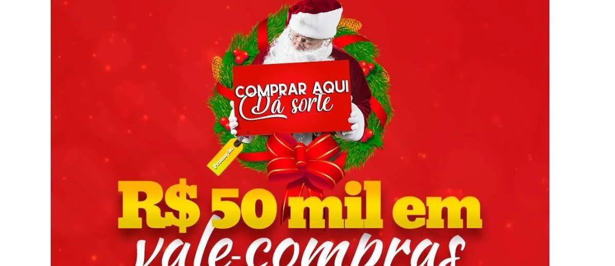 Promoção CDL Brusque Natal 2019 - 50 Mil Reais em Vales-Compras