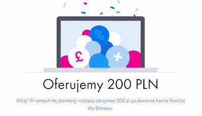 Revolut Biznes 200 zł