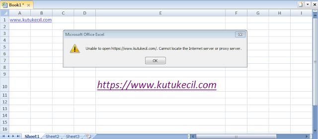 cara menghilangkan hyperlink di excel 2007