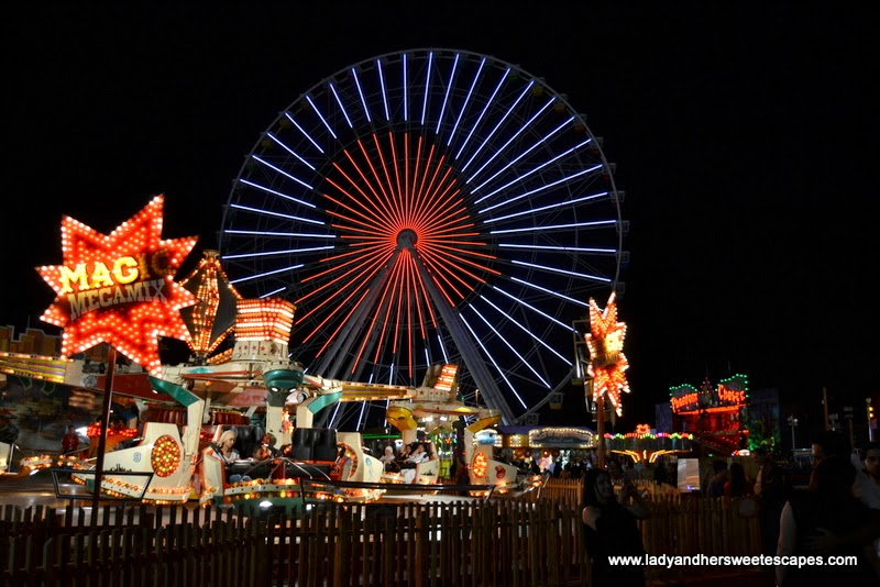 funfair at the Global Village's Fantasy Island