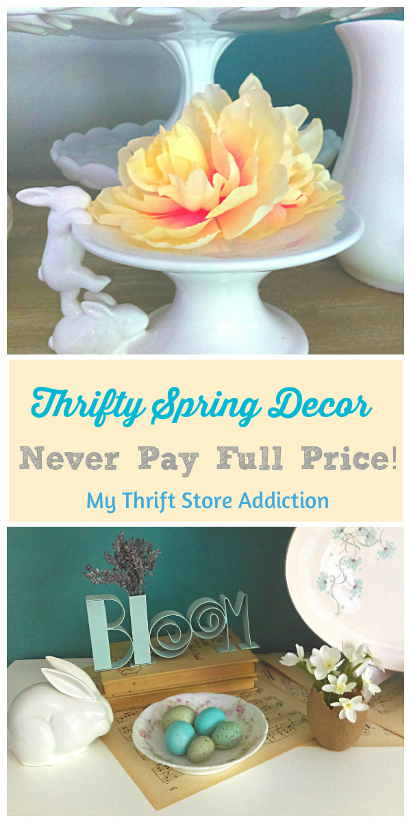 thrifty spring home decor