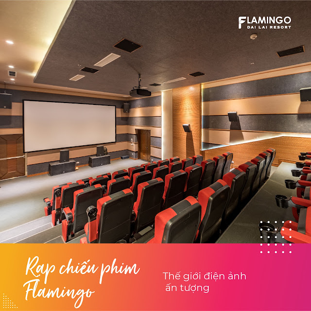 thế giới giải trí tại flamingo đại lải