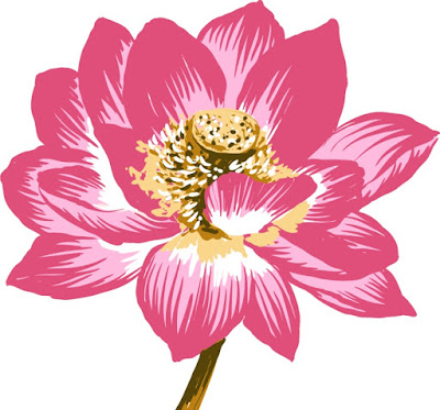 Free download pink lotus  Flower Vector,  Royalty Free Vector image floral pattern, free use royalty-free, available the file format Ai and PNG ready to print